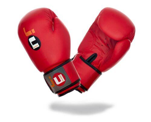 Ju-Sports Guantoni da boxe TRAINING Rosso-BOX-guanti guantoni da boxe 8-14oz.
