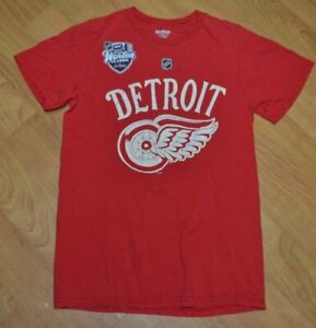 info for 2aeb5 0e6dd Details about Detroit Red Wings Henrik Zetterberg Retro Winter Classic  Jersey T Shirt Small