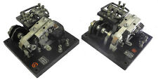 TWO Vintage Struther 2-Pole Latching Relays, 115VAC Coil, 10 Amp Contacts. RL