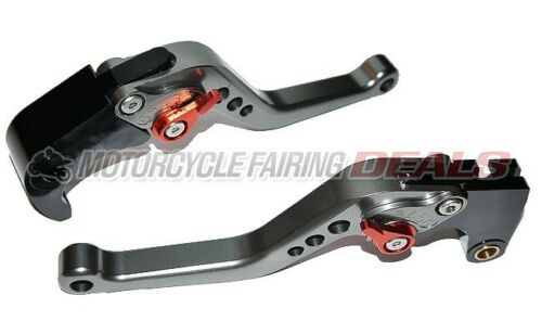 CNC Adjustable Shorty Brake Clutch Lever Titanium For Honda CBR 600 2007 - 2012