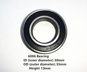 6006Z Quality Rolling Bearing ID//OD 30mm//55mm//13mm Ball