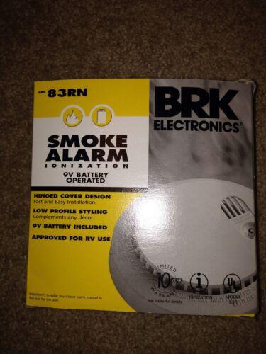SMOKE ALARM IONIZATION BRK ELECTRONICS 83RN New Never Used
