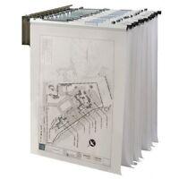 Alvin Wall Pivot Rack For Blueprints-bpr016
