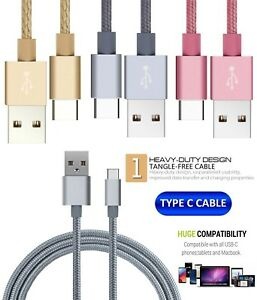 For Samsung Galaxy S8,S8 S8 Edge Fast Charger Lead Data USB Lead Cable C-Type
