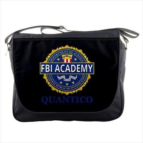 FBI Academy Quantico Training Men Women Messenger Shoulder Sling Crossover Bag