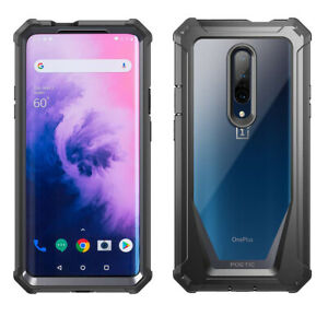 For-OnePlus-7-Pro-2019-Bumper-Shockproof-Case-Cover-360-Degree-Protetive-Black