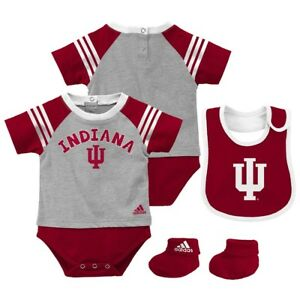 Minero enlazar Estribillo  Indiana Hoosiers Adidas Newborn Red