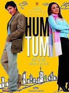 Hum-Tum-Ich-amp-du-verrueckt-vor-Liebe-von-Kunal-Kohli-DVD-Zustand-gut