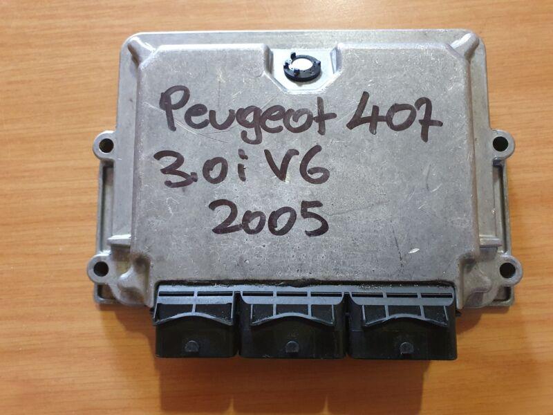 Peugeot 407 3.0i V6 2004-2011 Bosch ECU part# 96 541 922 80