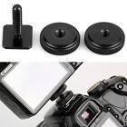 Pro 1/4 Inch Dual Nuts Tripod Mount Screw to Flash Camera Hot Shoe Adapter