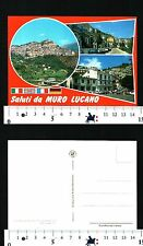 MURO LUCANO (PZ) - SALUTI DALLA LOCALITA' CON VEDUTE VARIE - 56191