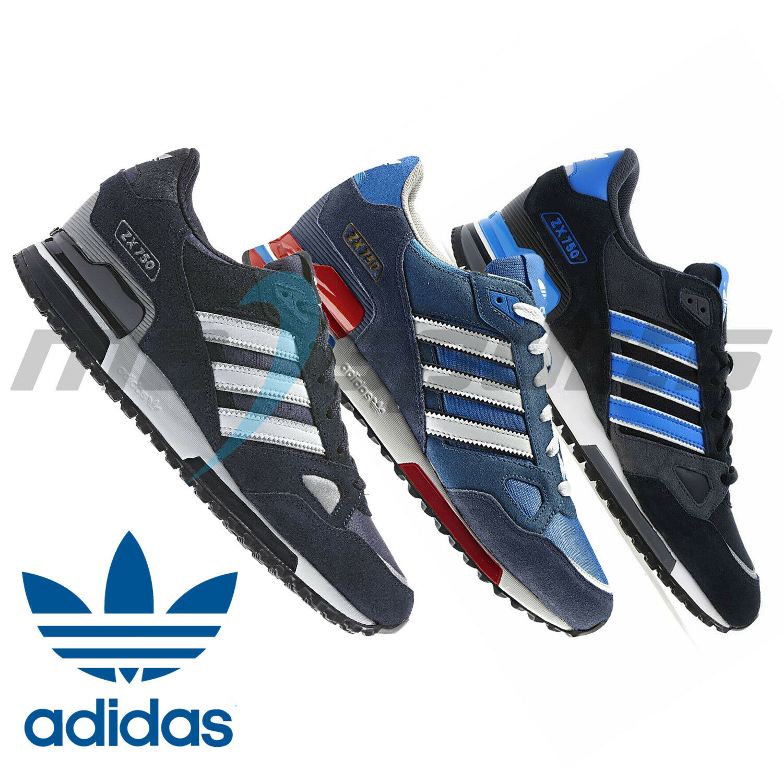 New Adidas Originals ZX750 Mens Sports Running Casual Trainers schuhe  ✅