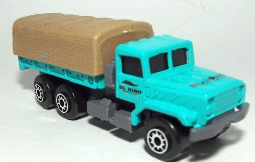 Maisto Die Cast Military type M-923 Big Foot 6X6 Truck marked El Nino in Green 1