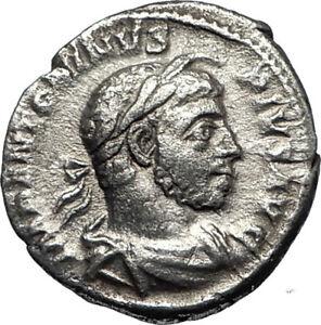 ELAGABALUS-at-Altar-Sacrificing-Ancient-222AD-Rome-Silver-Roman-Coin-i67048