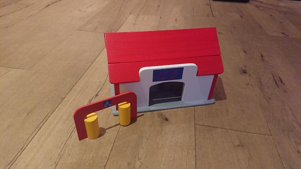 Andet legetøj, Træ Brandstation, Krea