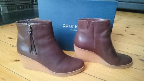 Chestnut Boots Rrp eu Auden 5 Wedge £278 38 Ankle 5 5 Cole Uk Haan w1qIXX