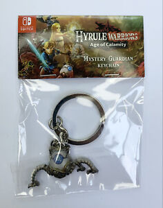 """Hyrule Warriors Age of Calamity """"MYSTERY GUARDIAN KEYCHAIN"""" FACTORY PACKAGING"""