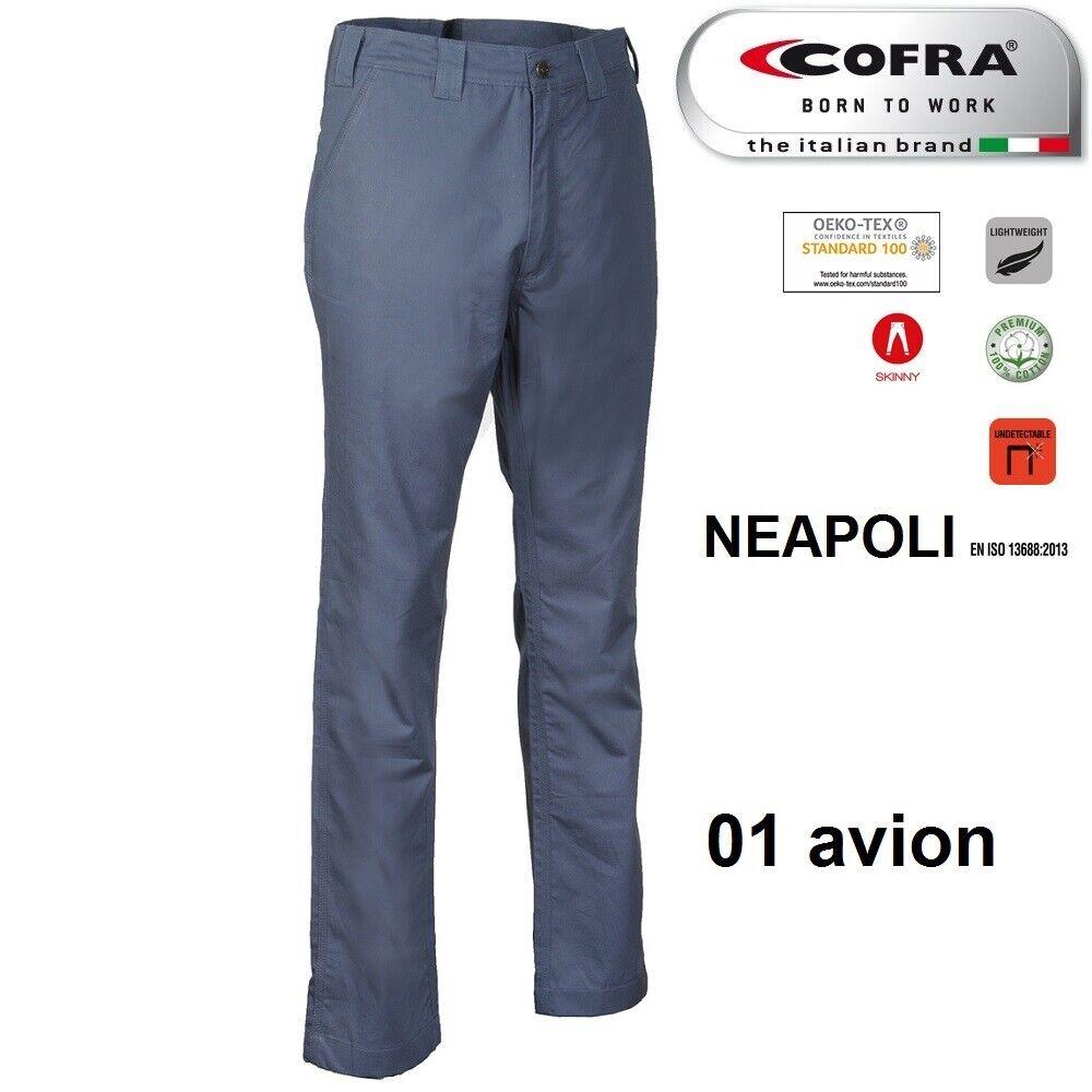 Immagine 6 - Pantaloni da lavoro COFRA modello NEAPOLI edilizia industria logist 100% cotone