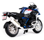 Maisto-1-18-2017-BMW-R1200GS-Bicicletta-Moto-modello-diecast-Toy-PENNINO miniatura 3