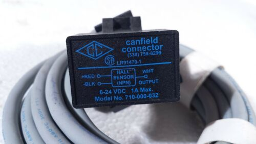 *NEW* CANFIELD CONNECTOR SERIES 7000 READ AND ELECTRONIC SWITCHES 6-24 VDC