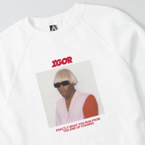 IGOR Tyler Creator Sweatshirt Future Earfquake Cherry Gang Kill Them Wang Jumper