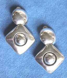 Image Is Loading Vintage Signed Brenda Schoenfeld Mexico Modernist Sterling Silver