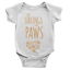 miniature 1 - My Siblings Have Paws Babygrow Dogs Cats Funny Cute Present Gift Body Suit