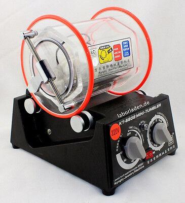 Labor-Kugelmühle KM1000 Pro / Trowalisiermaschine / Poliertrommel * 1,0l * TOPP!