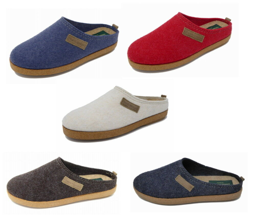 'The Mule Classic' Unisex Comfort Felt Clog Mule 'The Slippers by Amado Macario 55ba0a
