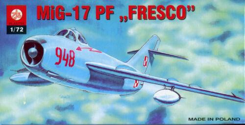 Soviet Fighter Mikoyan-Gurevich MiG-17 PF FRESCO S-011 Scale 1//72 ZTS PLASTYK