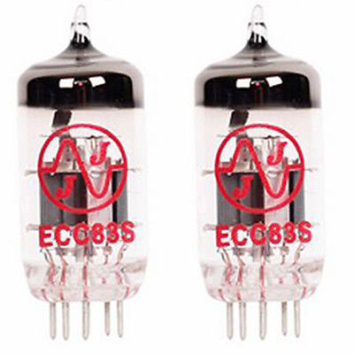 2x JJ Electronic ECC83 S 12AX7 7025 New Vacuum Tube TESTED Preamplifying Tube