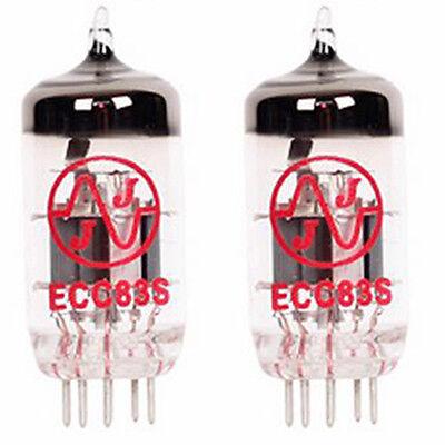 2x JJ Electronic ECC83 S 12AX7 7025 New Vacuum Tube TESTED Preamplifying Tube