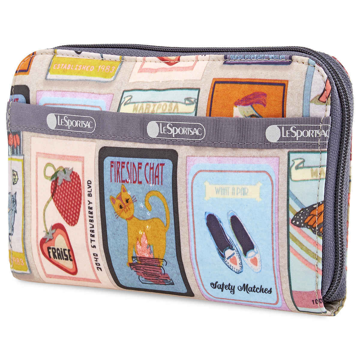 Le Sportsac Perfect Match Print Lily Wallet 6506-F409