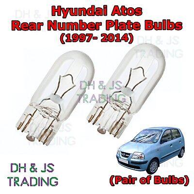 2x Fits Hyundai Amica Genuine Osram Original Side Indicator Light Bulbs Pair