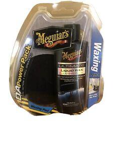 Meguiar's DA Power System Pack Ultimate Liquid Wax Polish 4 oz G3503 Meguiars