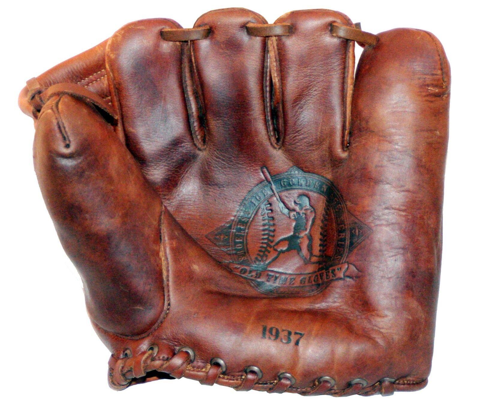 1937 zapatosless Joe época dorada Guante de béisbol