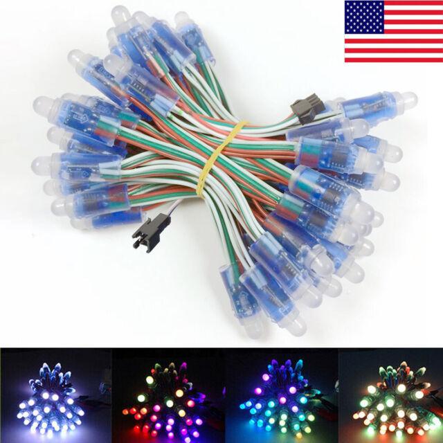 50pcs 5V WS2811 IC RGB Full Color Pixels LED Module light Christmas Lamp.