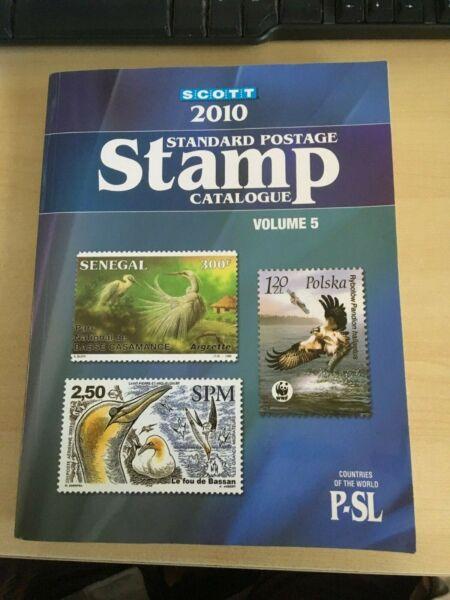 2010 Scott Utilisé Catalogue Volume 5 P-sl
