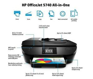 hp officejet 5740 all in one inkjet printer page count 1k ebay rh ebay com Breakdown of HP Deskjet 5740 Printer HP 5740 Printer Cartridge