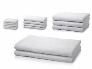 500-GSM-Egyptian-Cotton-Hotel-Quality-Face-Hand-Bath-Towel-Bath-Sheets-White