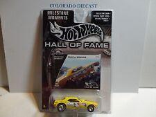 Hot Wheels Hall of Fame Yellow Snake vs Mongoose Dragster