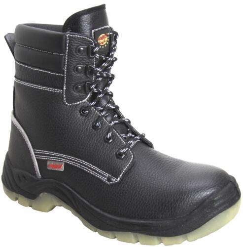 S3 Winterstiefel Arbeitsstiefel Sicherheitsstiefel Kälteschutz Stiefel Leder