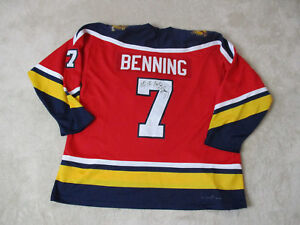 VINTAGE-CCM-Brian-Benning-Florida-Panthers-Hockey-Jersey-Adult-Extra-Large-Mens