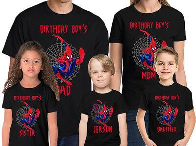 spider man Personalized NAME t-shirt toddler clothing kid shirt children