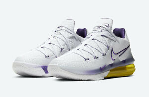 Nike-Lebron-XVII-Low-White-Multi-Size-US-Mens-Athletic-Shoes-Sneakers