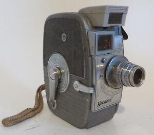 Details about Vtg Keystone K25 Capri Movie Camera 8mm 1950s