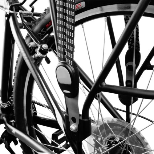 Details about  /BV Bicycle Black Triple Elastic Strap /& Silver Hooks Around Items on Most Racks
