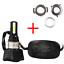 One Waterproof 40W 4400LM COB LED Motorcycle Headlight Hi//Lo Beam Bulb H4 HS1 H6