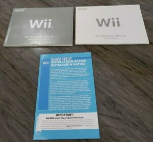 Wii-System-Console-User-Operations-Manual-Guide-System-Setup-Channels-amp-Settings
