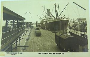 PORT-MELBOURNE-VICTORIA-ROSE-SERIES-P-3362-EARLY-1900-S-POSTCARD